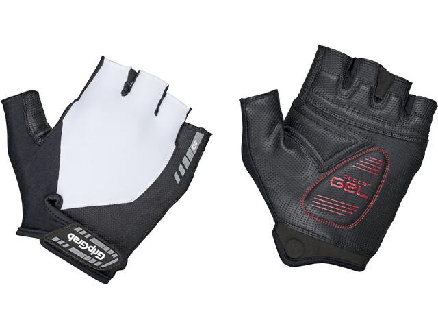 GripGrab ProGel Gevoerde Halve Vinger Handschoenen, white